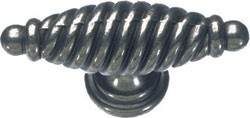 Antique Pewter Twister T Handle