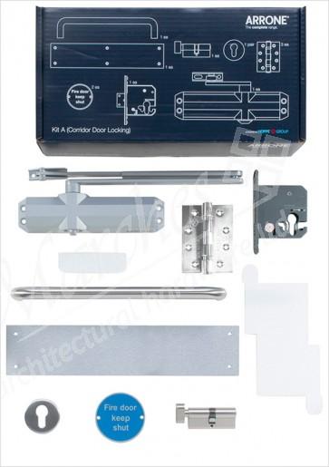Complete Fire Door Kit for Locking Corridor Doors