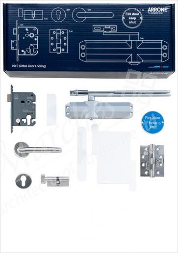 Complete Fire Door Kit for Locking Office Doors