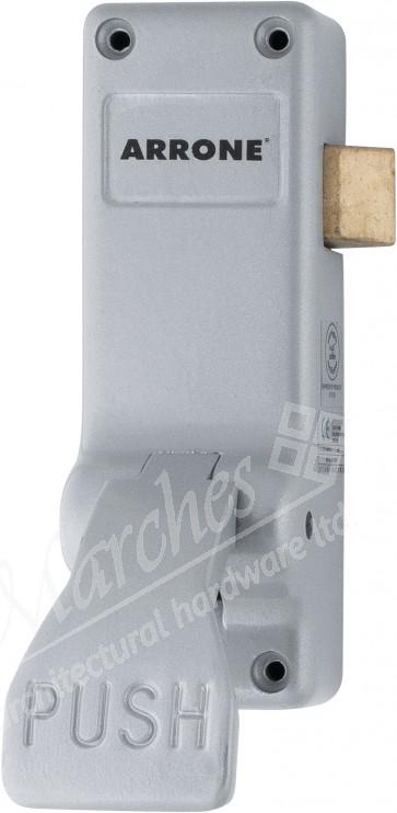 Push Pad Panic Latch - Silver