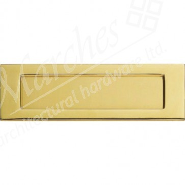 Letter Plate 257x80mm - PVD