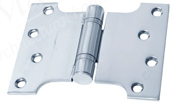 "Parliament Hinge 4""x3""x5"" - Bright Stainless Steel (PR)"