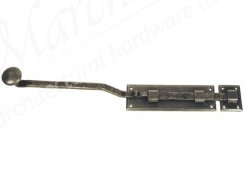 6'' French Door Bolt - Pewter