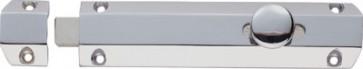 """4"""" Surface Bolt with 3 Keeps - Polished Chrome"""