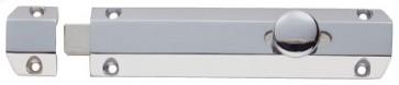 """6"""" Surface Bolt with 3 Keeps - Polished Chrome"""