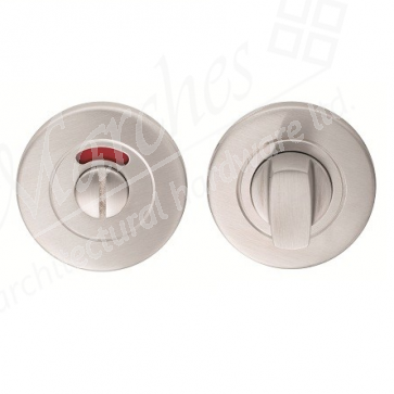 Thumb Turn & Release 8mm - Satin Stainless Steel