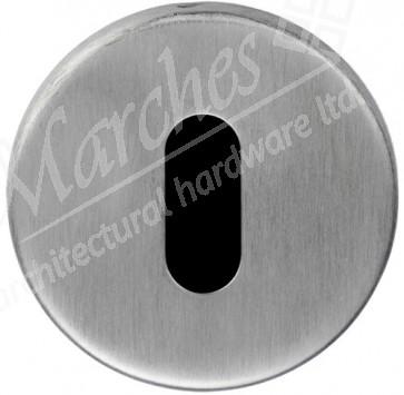 Eurospec Lock Escutcheon - Satin Stainless Steel