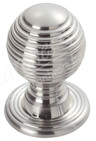 Queen Anne Cupboard Knob - Polished Chrome