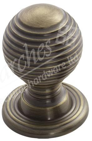 Queen Anne Cupboard Knob - Florentine Bronze