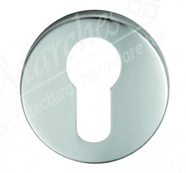 Eurospec Euro Escutcheon - Silver Anodised Aluminium