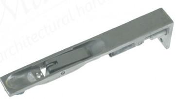 Lever Action Flush Bolts - Satin Anodized Aluminium - Various Sizes