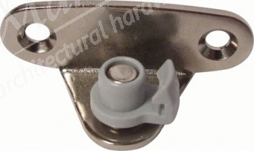 Screw-on bracket, for wooden flaps or flaps with aluminium frame, from frame width 45mm