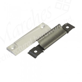 T/Hung Hinge Aided Compression Block (White)