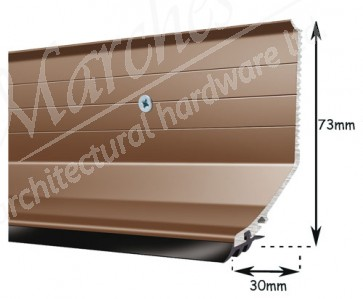 Exitex - Capex Lean to Flashing Profile 3m - Brown