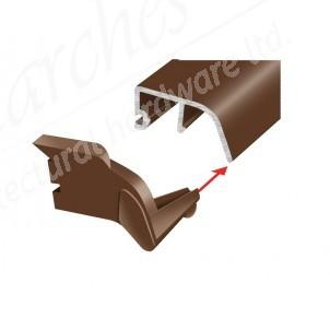 POSILOK 32 END CAP Brown (PAIR)