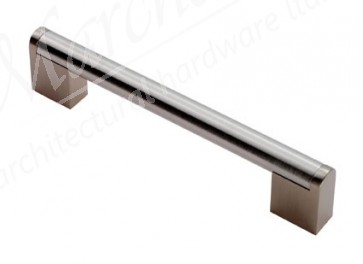 Bar Handle, 200mm (160mm cc)- Satin Nickel / SSS