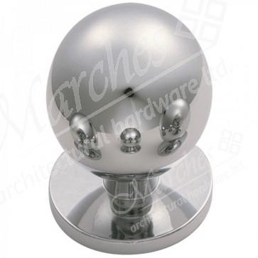 Ball CB Cupboard Knob - Polished Chrome