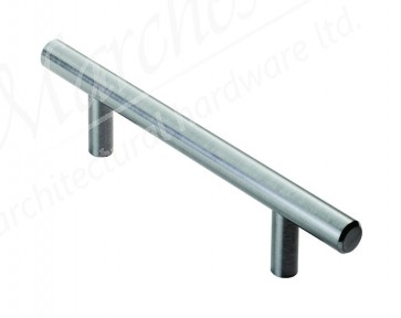 T-Bar Handles, 156-1084mm (96-1024mm) - Satin Nickel