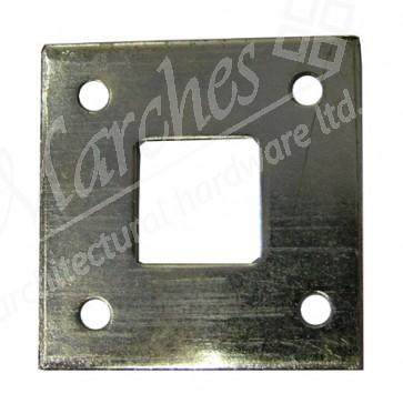 Floor Plate For Monkeytail Bolts - Galvanised