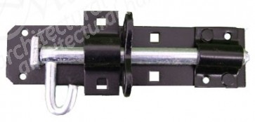 Black Padlock Bolt - Various Sizes