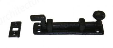 """Kirkpatrick - 4"""" Cranked Knob Bolt Antique Black 1131"""