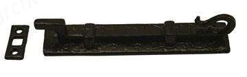 """Kirkpatrick - 6"""" Cranked Narrow Monkeytail Bolt 830 Antique Black"""