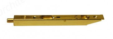 "6"" Box Type Flush Bolt - Brass Plated"