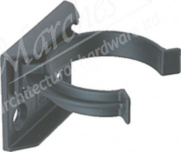 Plinth Leg Clip & Bracket (Screw fix) - Black