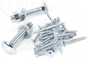 Zinc Fixing Pack for PR Cranked/Reversible Hinges