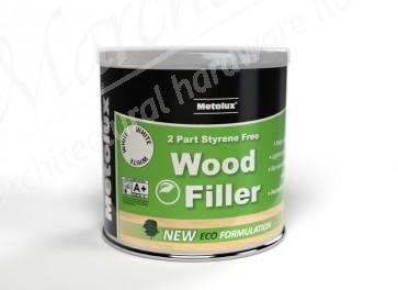 2 Part Wood Filler & Hardener 770ml / 1.4kg - Various Colours