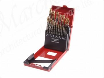 A095 Comp Hss Tin Drill Set 1-10mm X 0.5