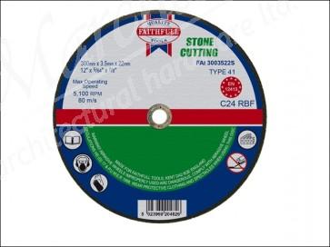 Cut Off Wheel for Stone 300 x 3.5 x 22mm