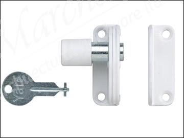 P123 Sash Window Presslock White