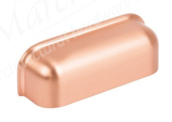 Odessa Cup Handle, 78mm (64mm cc) - Brushed Copper