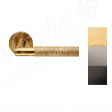 Crown Lever on Rose (Grade 304 SS) - Various Finishes