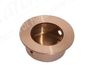 30mm Flush Pull Handle - Copper