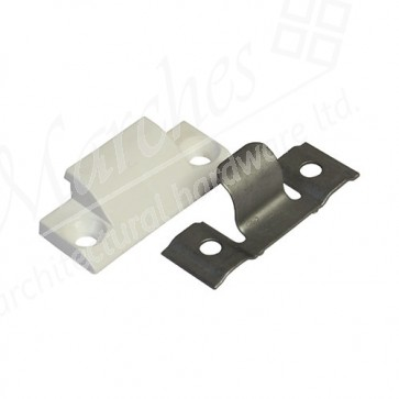 S/Hung Hinge Aided Compression Block (White)