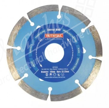 Faithfull Contract Diamond Blade - Various Sizes