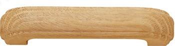 D Handle, 112 mm - Oak