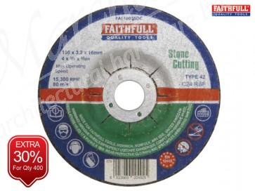 Depressed Centre Stone Cut Off Discs