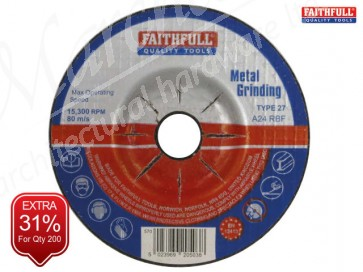 Depressed Centre Metal Grinding DiscS