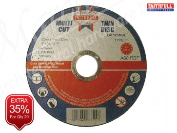 Multi-Cut Cutting Discs