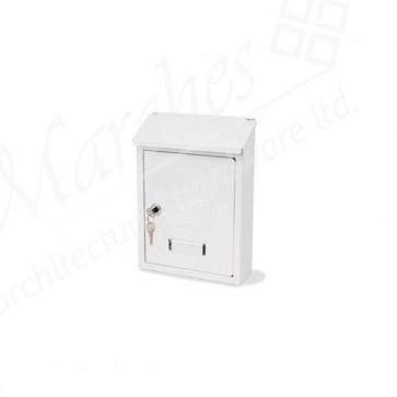 G2 Avon Post Box - White