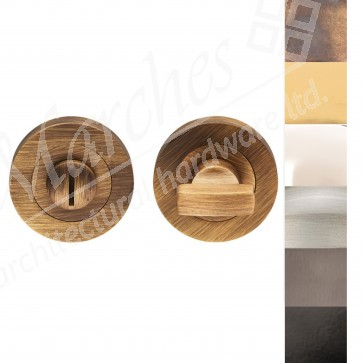 Bathroom Thumbturn & Release - Various Finishes