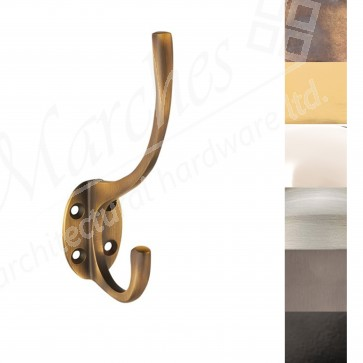 Hat & Coat Hook - Various Finishes