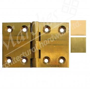 Back Flap Brass Hinges - (pair)