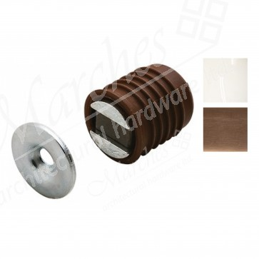 Magnetic catch - 2.5-3.5kg - Various Finishes