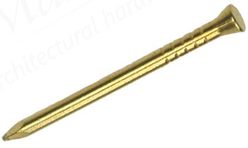 Panel Pins - Brass 0.5kg box