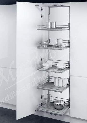 Swing Out Larder Unit 1700-1950mm (500 or 600mm Unit) Solid Base