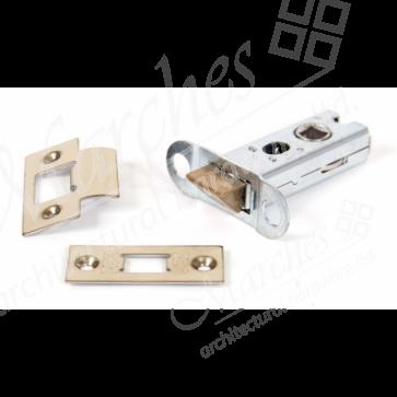 Heavy Duty Tubular Latch - Brass (Various Sizes)